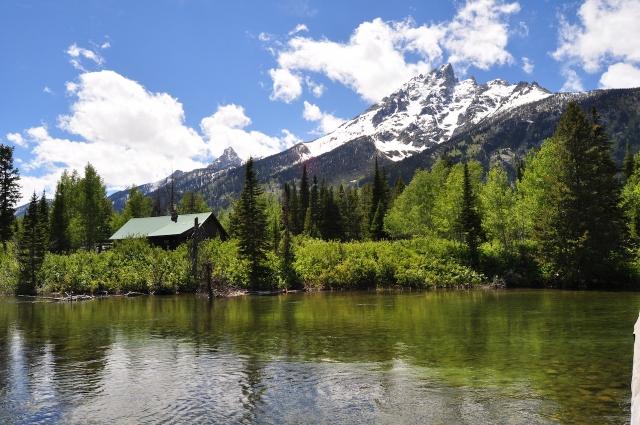 Jenny Lake 的湖光山色